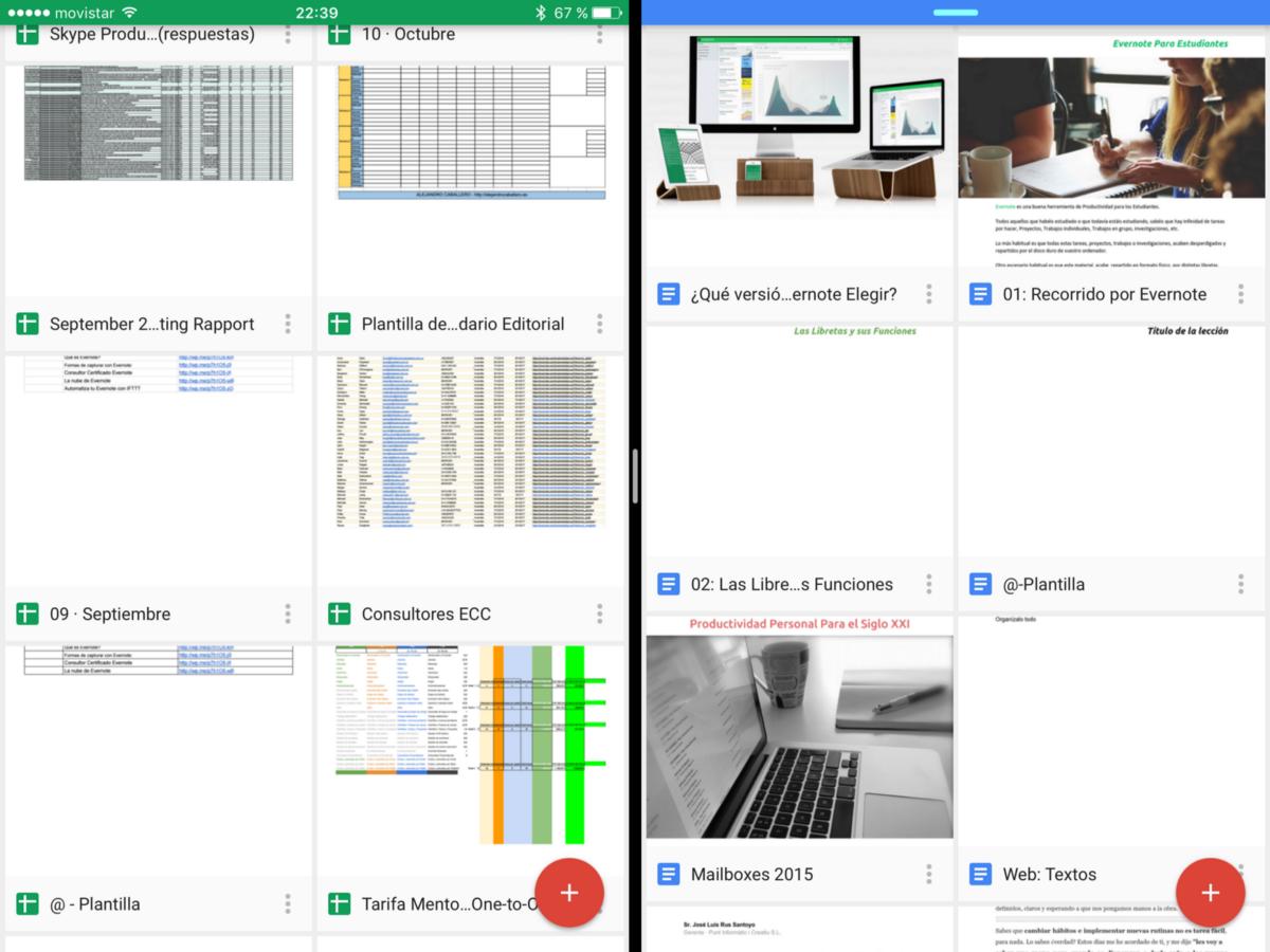 Google Docs · IOS