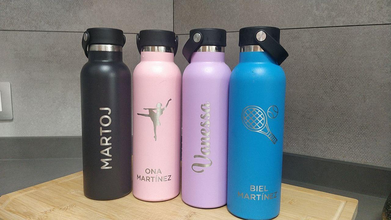 Nuestras botellas Runbott